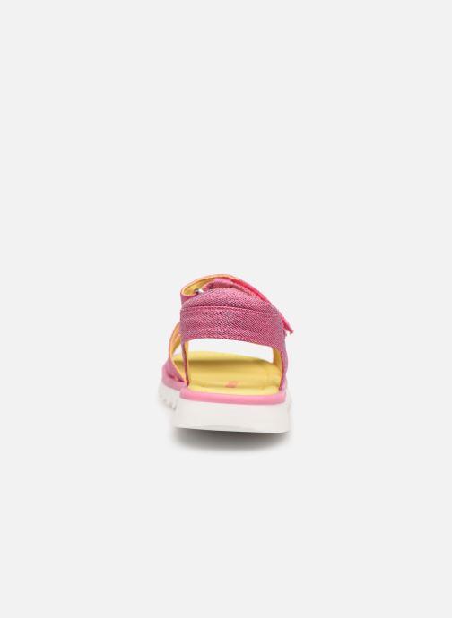 Sandali e scarpe aperte Agatha Ruiz de la Prada Smile Rosa immagine destra