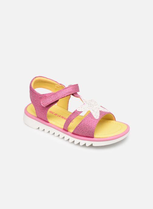 Sandales et nu-pieds Agatha Ruiz de la Prada Smile Rose vue détail/paire