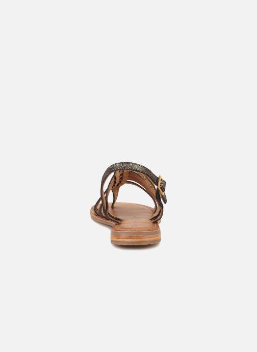 Sandales et nu-pieds Les Tropéziennes par M Belarbi Hariette Or et bronze vue droite