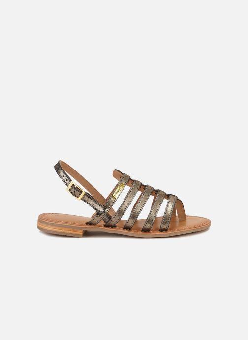 Sandales et nu-pieds Les Tropéziennes par M Belarbi Hariette Or et bronze vue derrière