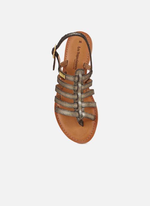 Sandales et nu-pieds Les Tropéziennes par M Belarbi Hariette Or et bronze vue gauche