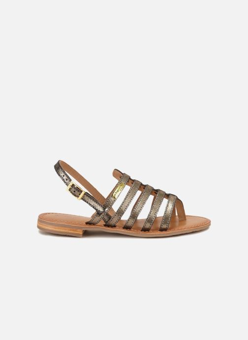 Sandales et nu-pieds Les Tropéziennes par M Belarbi Hariette Or et bronze vue détail/paire