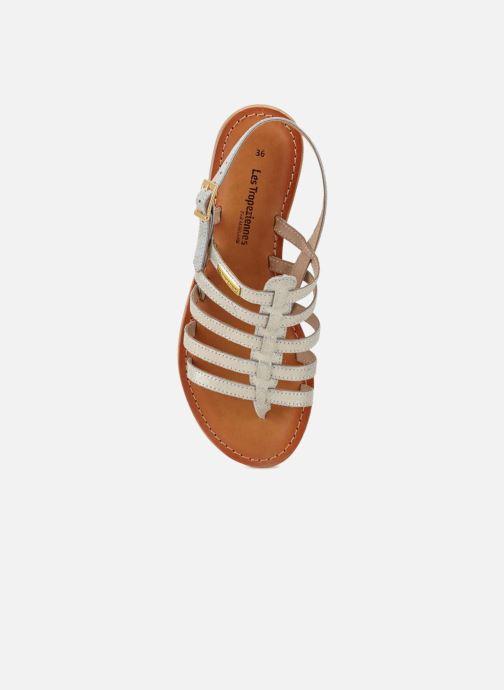 Sandales et nu-pieds Les Tropéziennes par M Belarbi Hariette Argent vue gauche