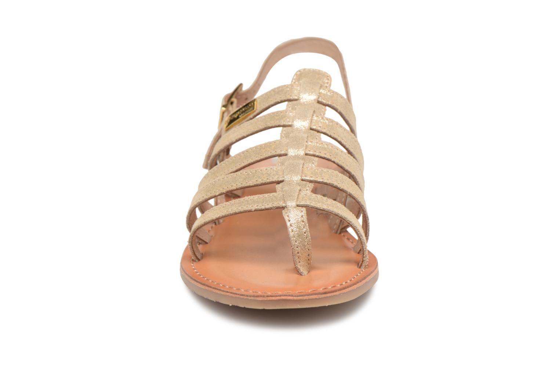 Sandales et nu-pieds Les Tropéziennes par M Belarbi Hariette Beige vue portées chaussures