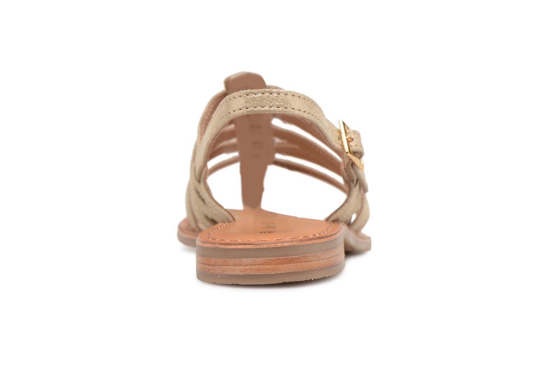 Sandales et nu-pieds Les Tropéziennes par M Belarbi Hariette Beige vue droite