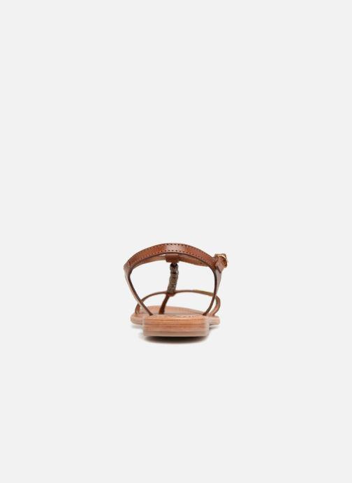 Sandales et nu-pieds Les Tropéziennes par M Belarbi Vahiné Marron vue droite