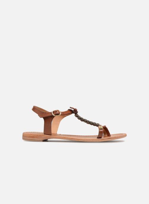 Sandales et nu-pieds Les Tropéziennes par M Belarbi Vahiné Marron vue derrière