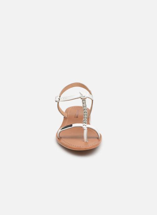 Sandales et nu-pieds Les Tropéziennes par M Belarbi Vahiné Blanc vue portées chaussures