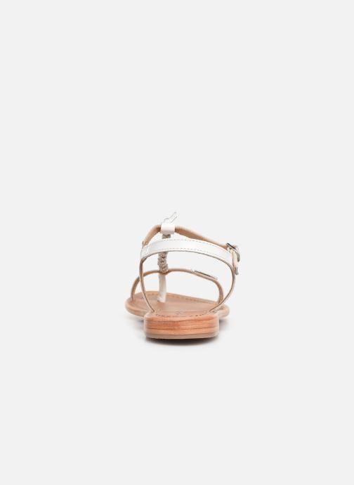 Sandales et nu-pieds Les Tropéziennes par M Belarbi Vahiné Blanc vue droite