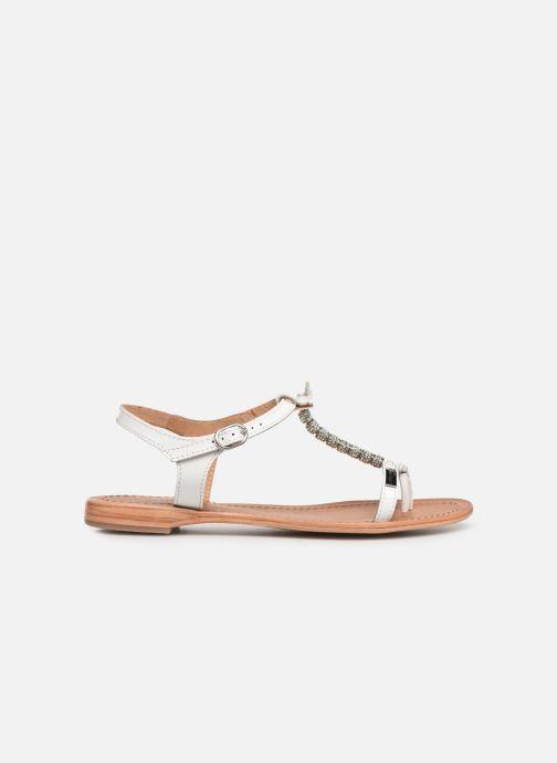 Sandales et nu-pieds Les Tropéziennes par M Belarbi Vahiné Blanc vue derrière