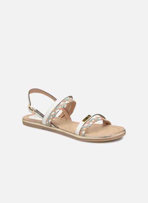 Sandales et nu-pieds Les Tropéziennes par M Belarbi Bridget Blanc vue détail/paire