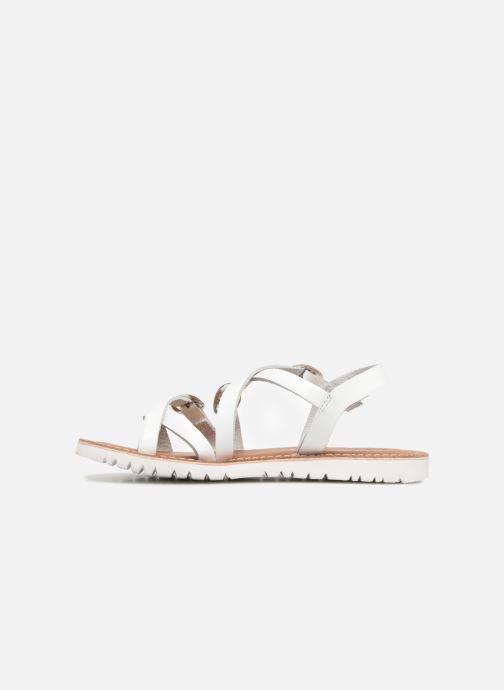 Sandales et nu-pieds L'Atelier Tropézien Camille Blanc vue face