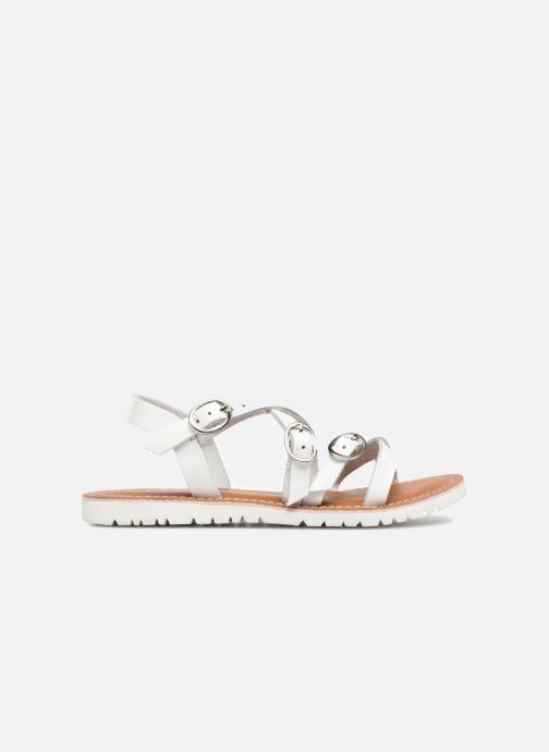 Sandalen L'Atelier Tropézien Camille Wit achterkant