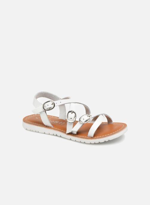 Sandali e scarpe aperte L'Atelier Tropézien Camille Bianco vedi dettaglio/paio