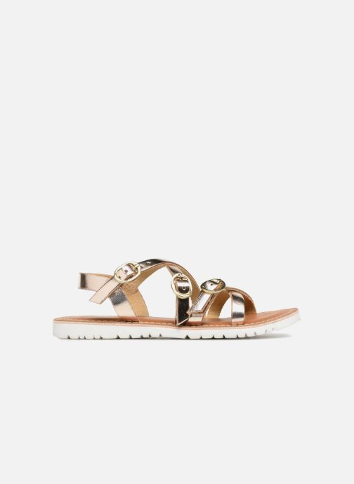 Sandals L'Atelier Tropézien Camille Bronze and Gold back view