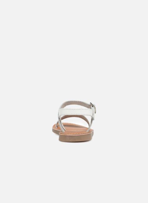 Sandales et nu-pieds L'Atelier Tropézien Marie Blanc vue droite