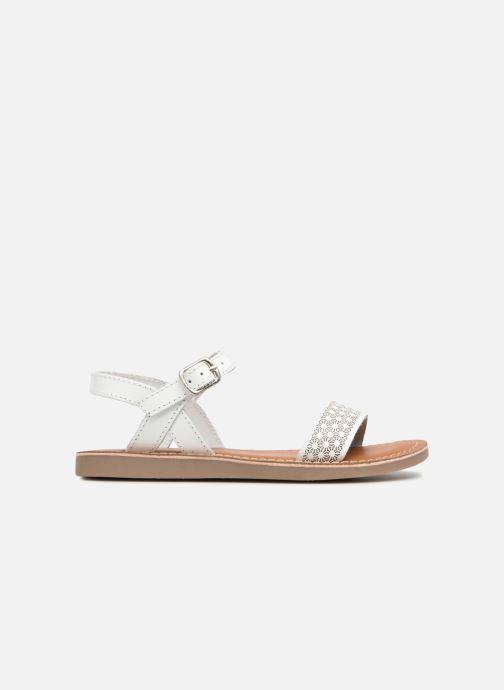 Sandales et nu-pieds L'Atelier Tropézien Marie Blanc vue derrière