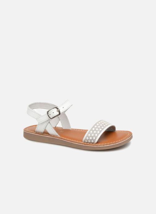 Sandales et nu-pieds L'Atelier Tropézien Marie Blanc vue détail/paire