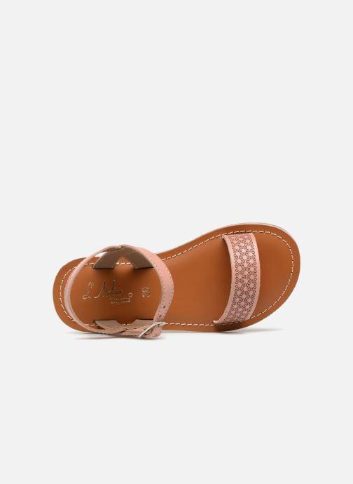 Sandales et nu-pieds L'Atelier Tropézien Marie Rose vue gauche