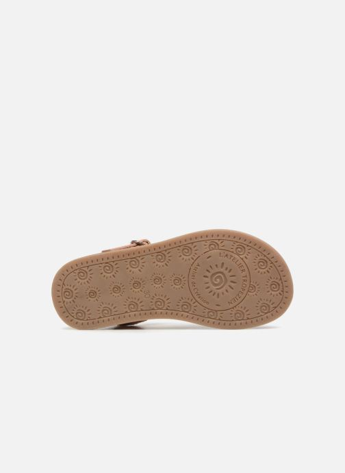 Sandales et nu-pieds L'Atelier Tropézien Marie Rose vue haut