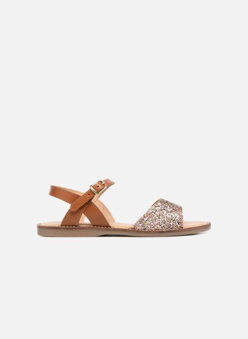 Sandales et nu-pieds L'Atelier Tropézien Helene Argent vue derrière