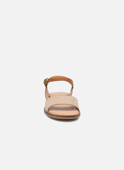 Sandales et nu-pieds L'Atelier Tropézien Helene Beige vue portées chaussures