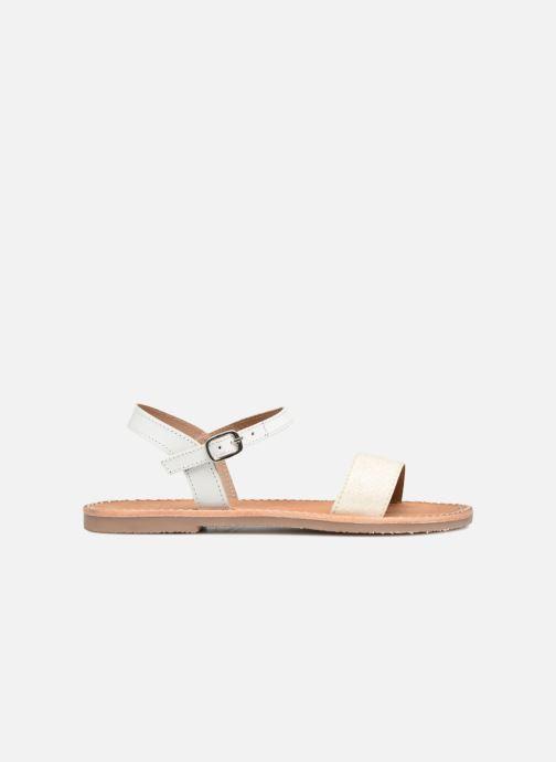 Sandales et nu-pieds L'Atelier Tropézien Caroline Blanc vue derrière