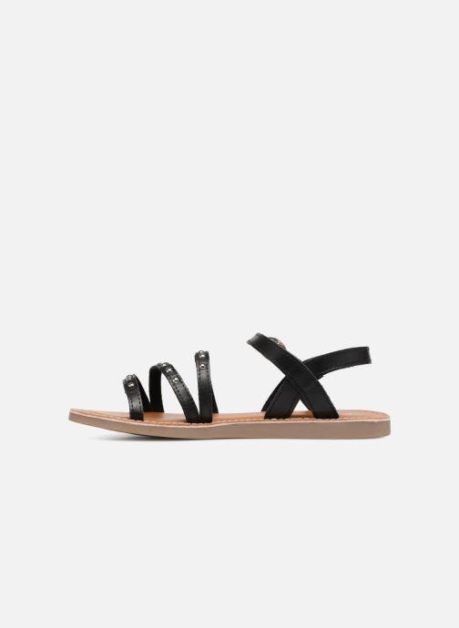 Sandalen L'Atelier Tropézien Antonia schwarz ansicht von vorne