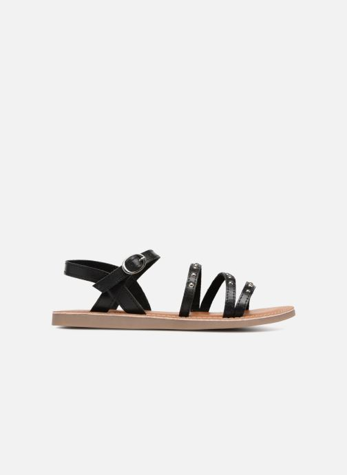 Sandals L'Atelier Tropézien Antonia Black back view