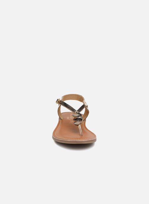 Sandals L'Atelier Tropézien Sarah Bronze and Gold model view
