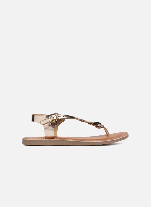 Sandales et nu-pieds L'Atelier Tropézien Sarah Or et bronze vue derrière
