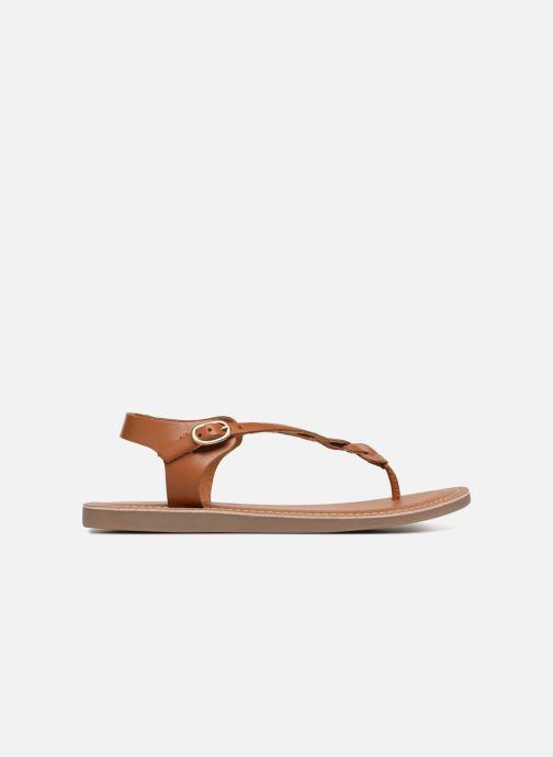 Sandali e scarpe aperte L'Atelier Tropézien Sarah Marrone immagine posteriore