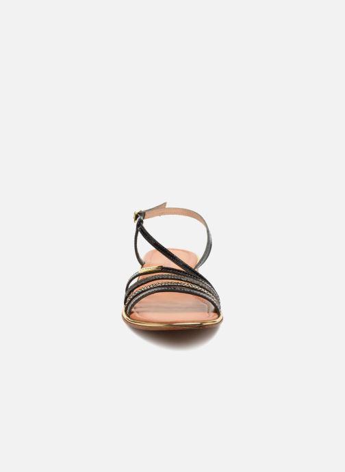Sandales et nu-pieds Les Tropéziennes par M Belarbi Holidays Noir vue portées chaussures
