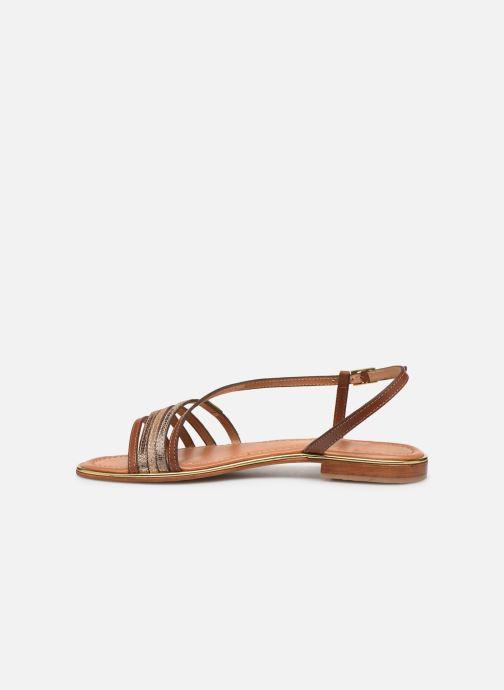 Sandales et nu-pieds Les Tropéziennes par M Belarbi Holidays Marron vue face
