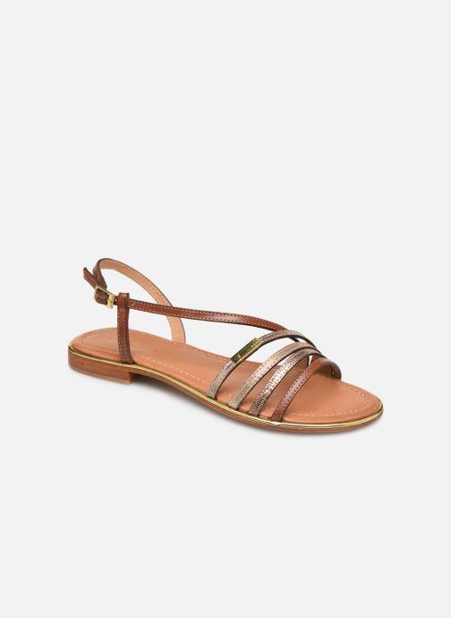 Sandales et nu-pieds Les Tropéziennes par M Belarbi Holidays Marron vue détail/paire