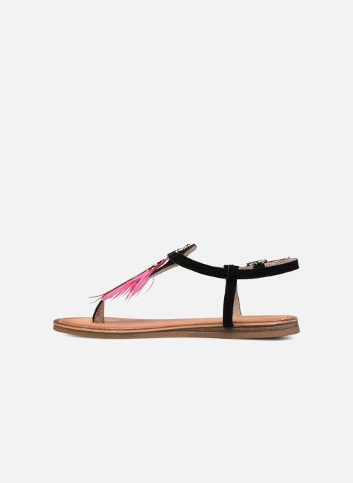 Sandales et nu-pieds Les Tropéziennes par M Belarbi Gaelle Noir vue face