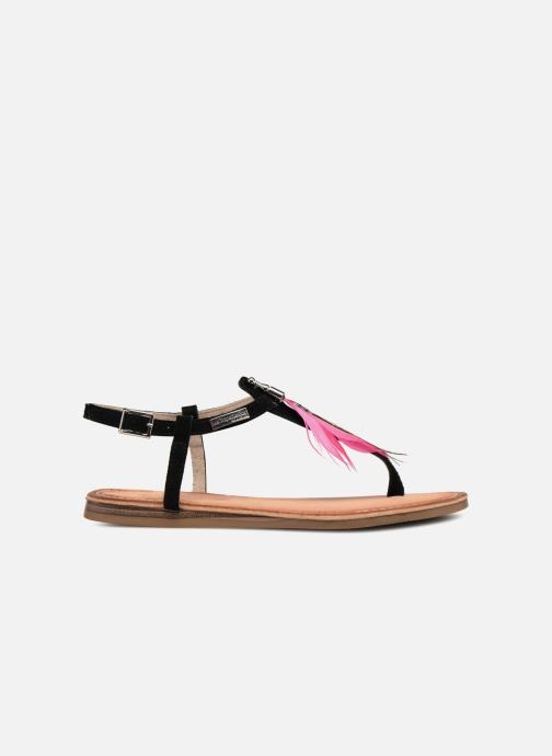Sandales et nu-pieds Les Tropéziennes par M Belarbi Gaelle Noir vue derrière