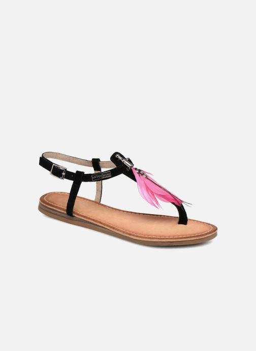 Sandales et nu-pieds Les Tropéziennes par M Belarbi Gaelle Noir vue détail/paire