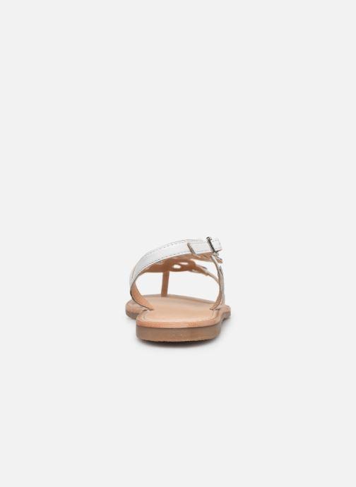 Sandales et nu-pieds Les Tropéziennes par M Belarbi Oups Blanc vue droite