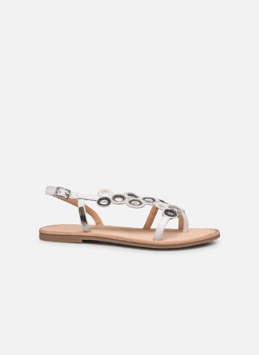 Sandales et nu-pieds Les Tropéziennes par M Belarbi Oups Blanc vue derrière
