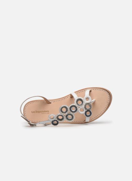 Sandales et nu-pieds Les Tropéziennes par M Belarbi Oups Blanc vue gauche
