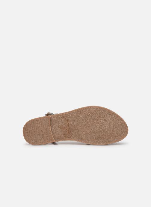 Sandales et nu-pieds Les Tropéziennes par M Belarbi Oups Blanc vue haut