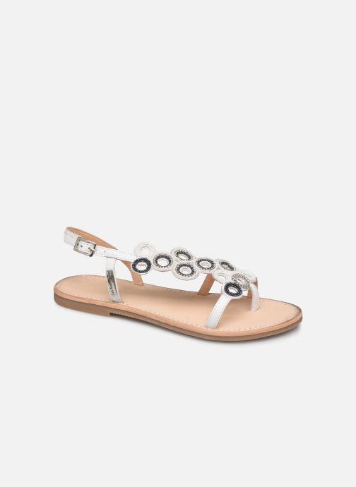 Sandals Les Tropéziennes par M Belarbi Oups White detailed view/ Pair view