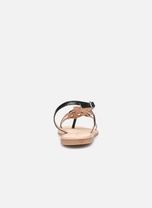 Sandales et nu-pieds Les Tropéziennes par M Belarbi Oups Noir vue droite