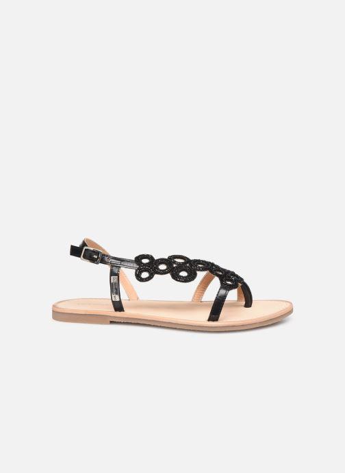Sandales et nu-pieds Les Tropéziennes par M Belarbi Oups Noir vue derrière