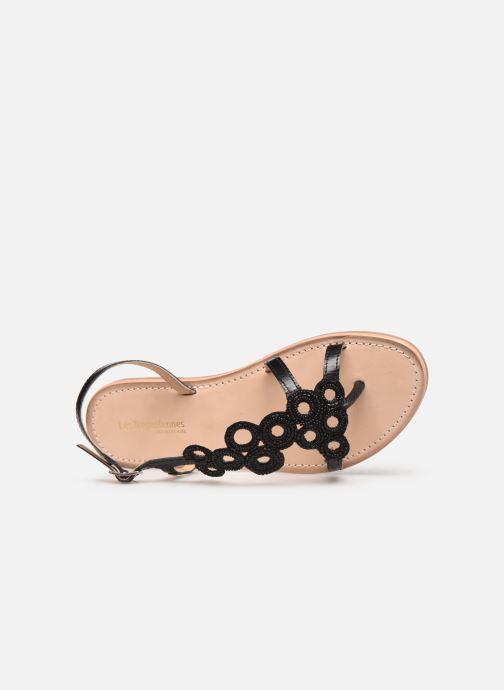 Sandales et nu-pieds Les Tropéziennes par M Belarbi Oups Noir vue gauche