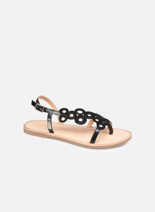 Sandals Les Tropéziennes par M Belarbi Oups Black detailed view/ Pair view