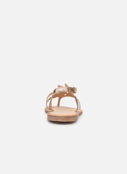 Sandales et nu-pieds Les Tropéziennes par M Belarbi Oups Orange vue droite
