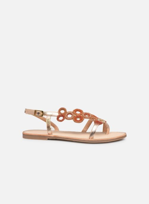 Sandales et nu-pieds Les Tropéziennes par M Belarbi Oups Orange vue derrière