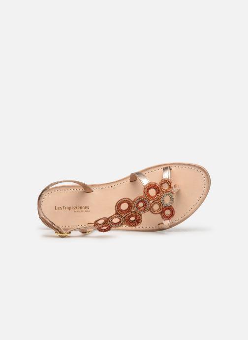 Sandales et nu-pieds Les Tropéziennes par M Belarbi Oups Orange vue gauche